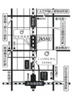 日本百貨店地図